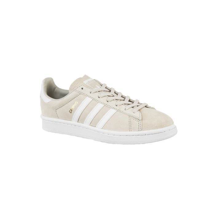 baskets mode adidas originals by9846 campus w beige