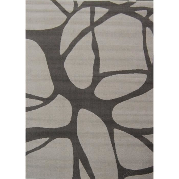 PARADISE Tapis de salon Beige-Taupe 80x150 cm