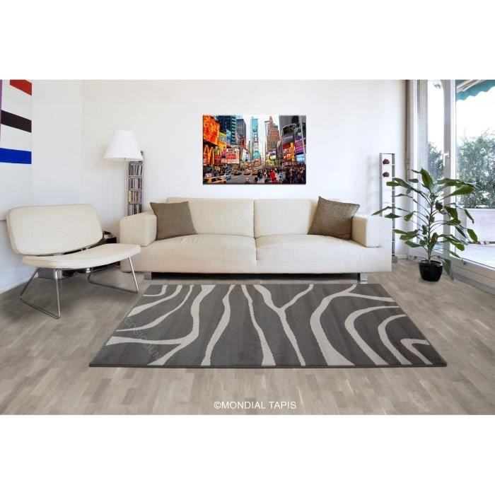 paradise tapis de salon gris anthracite 80x150 cm achat vente tapis cdiscount. Black Bedroom Furniture Sets. Home Design Ideas