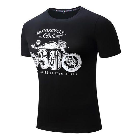 Travailler sur mon Triomphe Personnalisé Imprimé Biker T Shirt PAPA