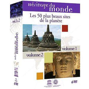 DVD DOCUMENTAIRE DVD Héritage du monde : les 50 plus beaux sites