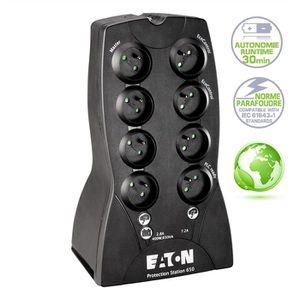 ONDULEUR Eaton onduleur protection Station 800VA 8 prises