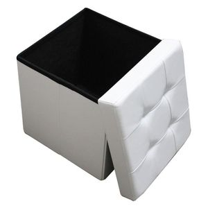 pouf coffre achat vente pouf coffre pas cher cdiscount. Black Bedroom Furniture Sets. Home Design Ideas