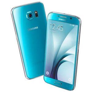 SMARTPHONE RECOND. Téléphone Mobile Samsung Galaxy S6 32Go G920 Bleu