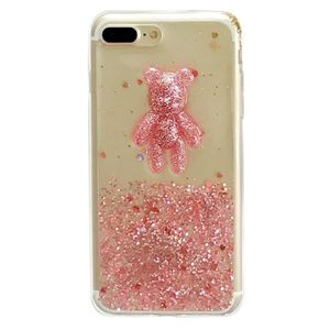 coque iphone 8 plus apple rose sable