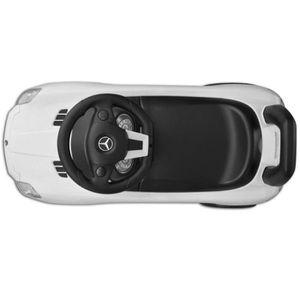 VOITURE - CAMION  Mercedes Benz Pousse-pied Voiture enfant blanc