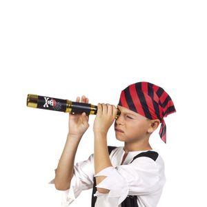 Longue vue pirate deguisement jouet 23 cm lunette enfant