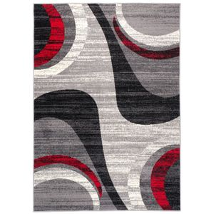 TAPIS TAPISO Dream Tapis de Salon Design Moderne Gris Ro