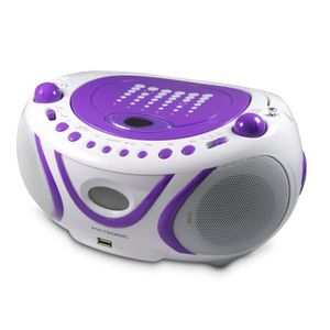 RADIO CD CASSETTE Metronic 477112 Radio CD/mp3 avec port USB