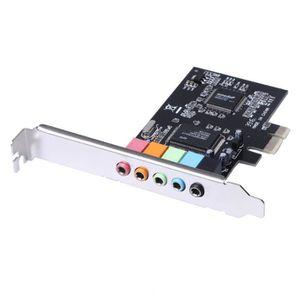 CARTE CONTROLEUR Nouveau PCI Express x1 PCI-E 5.1ch CMI8738 Chipset