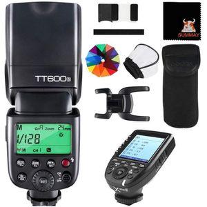 Godox TT600 2.4G Wireless GN60 Master//Slave Camera Flash avec d/éclencheur int/égr/é Speedlite pour Canon Nikon Pentax Olympus Fujifilm