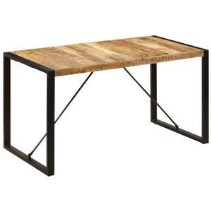 TABLE À MANGER SEULE 247420 Table de salle à manger 140x70x75 cm Bois d