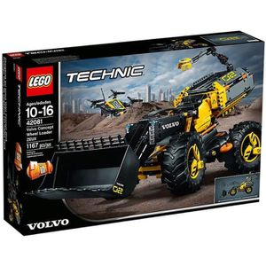 ASSEMBLAGE CONSTRUCTION LEGO® Technic 42081 Le tractopelle Volvo Concept Z