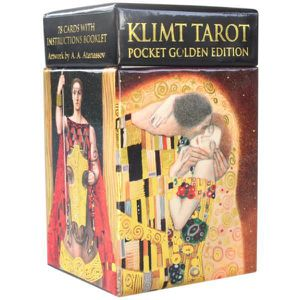 CARTES DE JEU Mini Tarot de Klimt unique Multicolore