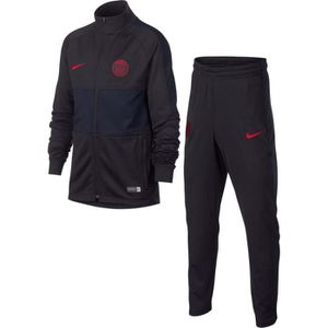 TENUE DE FOOTBALL SURVETEMENT JUNIOR PSG PARIS NEWS TOP NOIR/RED 201