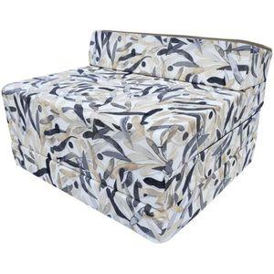 LIT PLIANT Matelas fauteuil pliant 200x70x10 cm - 009