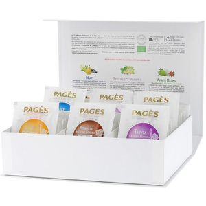 INFUSION PAGES - Coffret de 60 sachets d'Infusions Bio