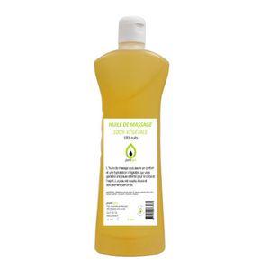 HUILE - LAIT MASSAGE Huile de massage 100% végétale parfumée, 1001 NUIT