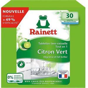 LIQUIDE LAVE-VAISSELLE RAINETT Tablettes lave-vaisselle Ecolabel - Citron