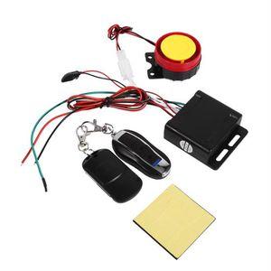 ANTIVOL - BLOQUE ROUE 12V Système d'alarme de sécurité anti-vol l de Mot