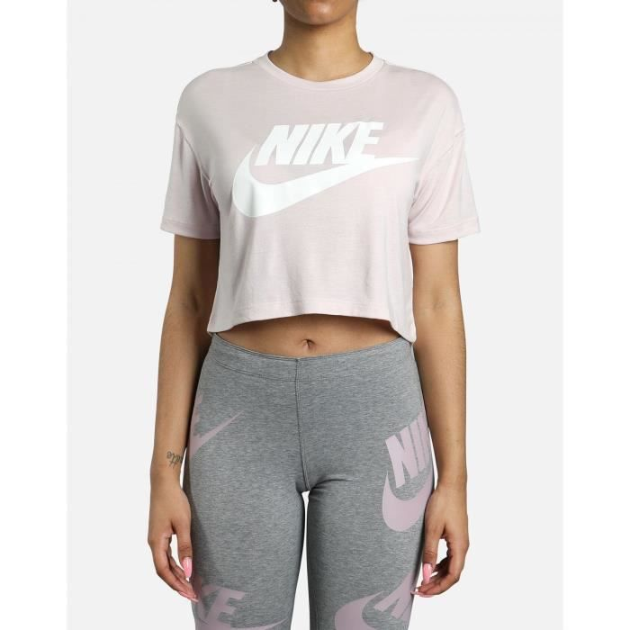 NIKE Sweatshirt Nsw Essential - Femme - Rose