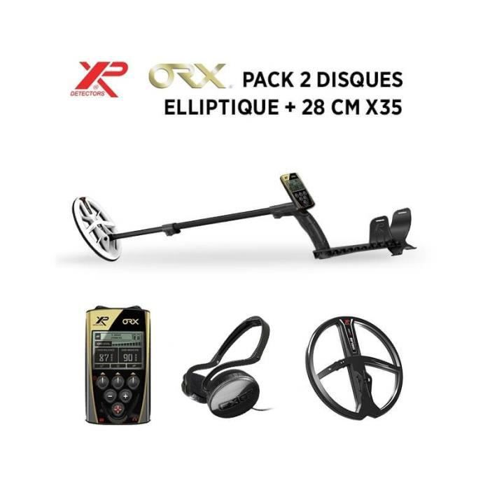 Detecteur de metaux XP ORX - Elliptique HF - 2 disques