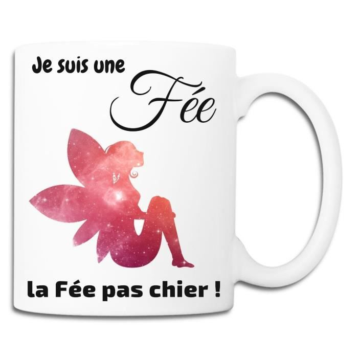 Mug FEE PAS CHIER Blanc