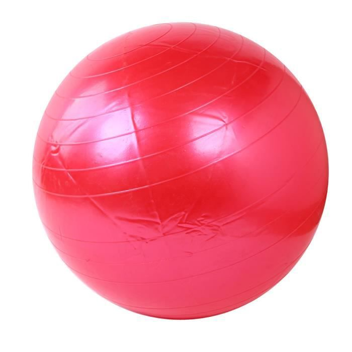 55 cm Exercice Fitness GYM Lisse Yoga Ball RD h176
