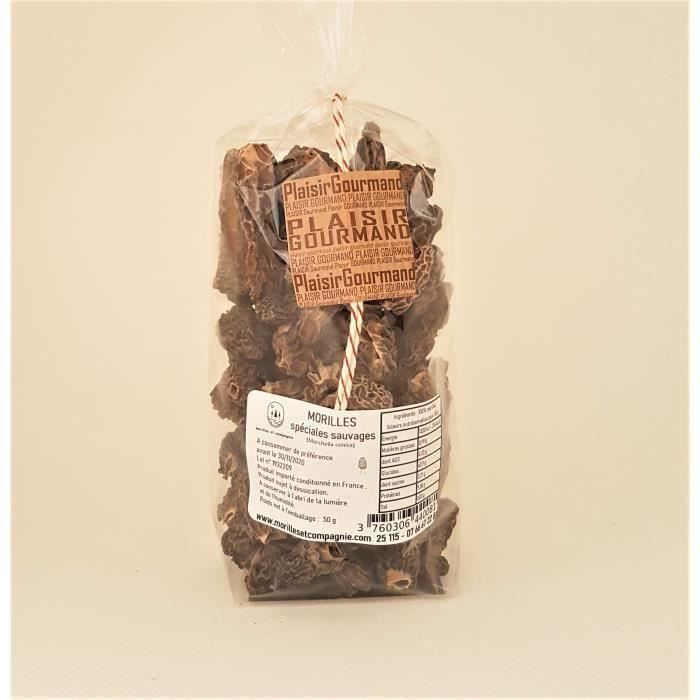 MORILLES SPECIALES SAUVAGES 50 gr