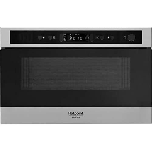 Micro ondes Encastrable Hotpoint Ariston MN512IXHA - Micro-Ondes + Vapeur Int&eacutegrable Acier inox - 22 litres - 750 Watts