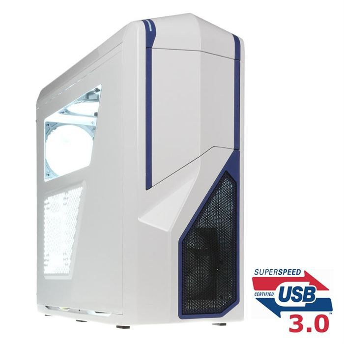 NZXT Phantom 410 White/blue