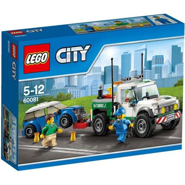 LEGO® City 60081 Le Pick-Up Dépanneuse
