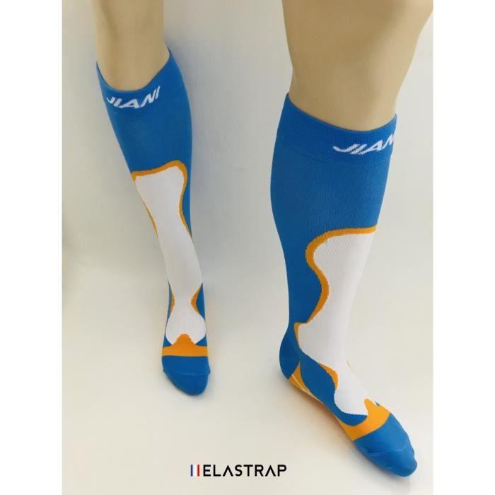 Chaussettes de compression Sport Running, Course à pied, Marche, Trail, Marathon - Légeres et resistantes - Effort et recuperation