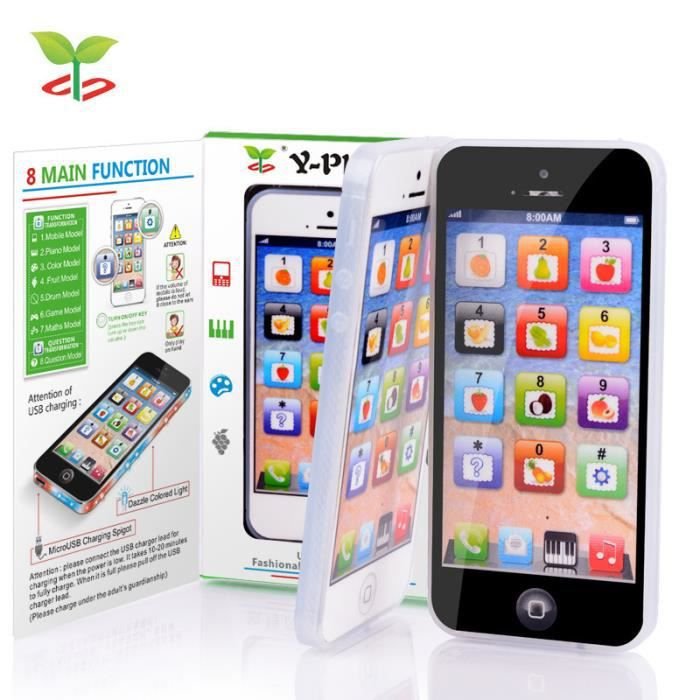 Tactile jouet éducatif pour enfants Yisheng YS2(Blanc)