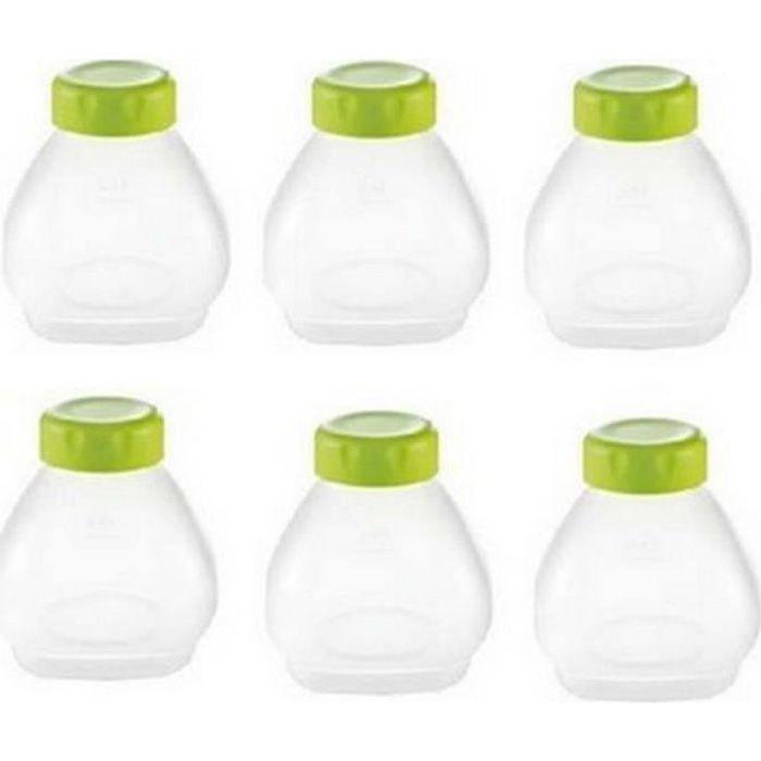 6 bouteilles yaourt a boire et goupillon Delices pour Yaourtiere SEB