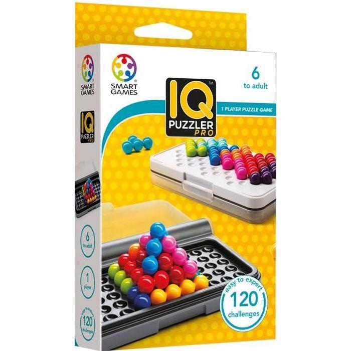 Smart Games Smartgames - Sg 455 - Iq Puzzler Pro - Jeu De Réflexion De Logique Et De Déduction UBUU2