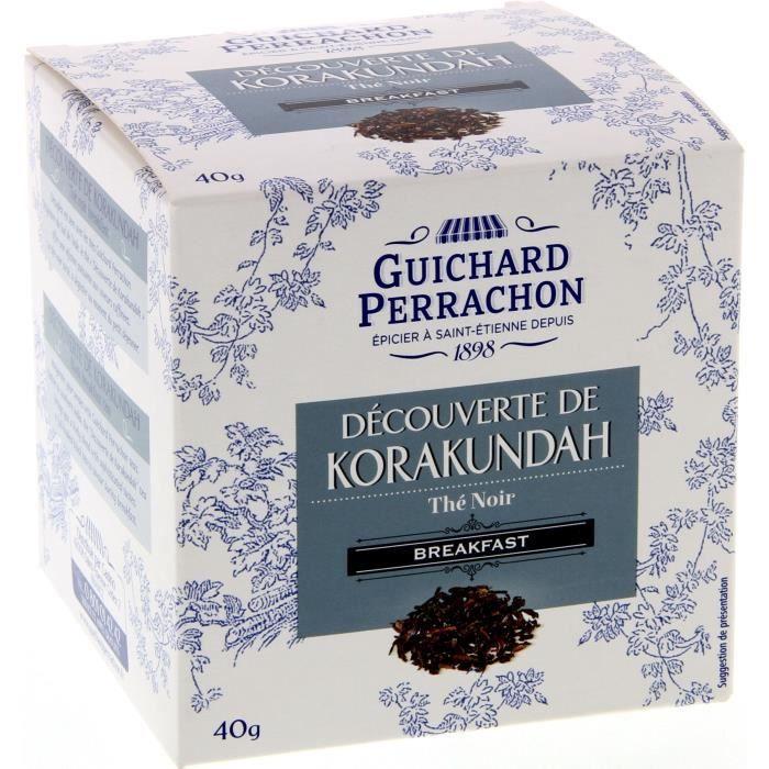 GUICHARD PERRACHON Thé Noir Brekfast - 20 sachets - 40g