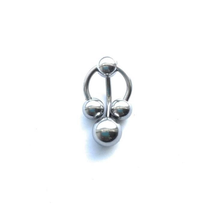toutes les tailles ~ Body Piercing 1.6 mm Acier Chirurgical Fer à Cheval//Circulaire Barbell