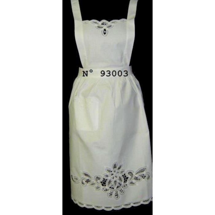 Femme Tablier Demi Taille Soubrette Costume Café BAR Serveuse Uniforme Rétro