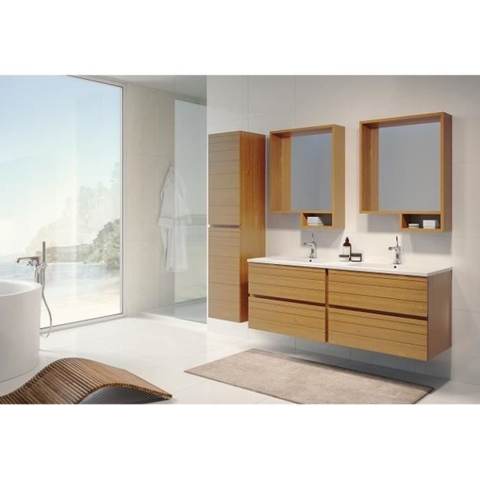 lagon miroir 140 x 60 cm mindi achat vente miroir. Black Bedroom Furniture Sets. Home Design Ideas