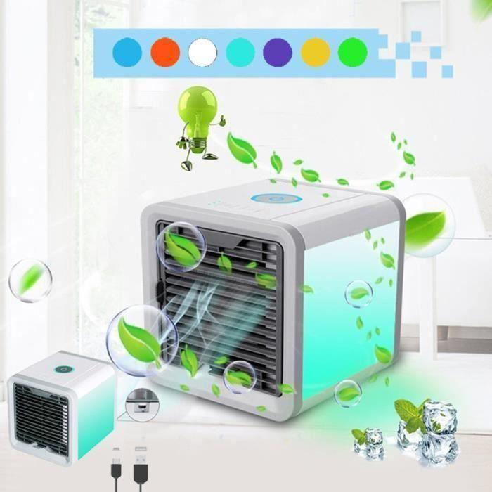 VENTILATEUR 750ml Refroidisseur d'air mobile portable brumisat
