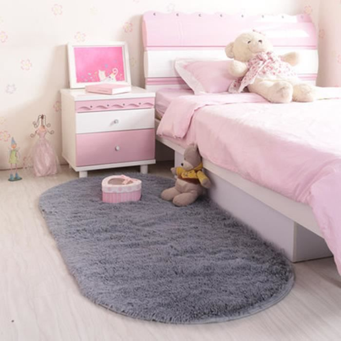 tapis salon carpet tapis chambre devant lit ovale tapis shaggy yoga moquette anti d rapage. Black Bedroom Furniture Sets. Home Design Ideas