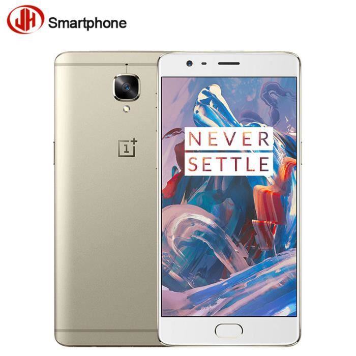 oneplus 3 or smartphone 6 go ram 64 go rom snapdragon 820 quad core 5 5 po full hd 16mp cam ra. Black Bedroom Furniture Sets. Home Design Ideas