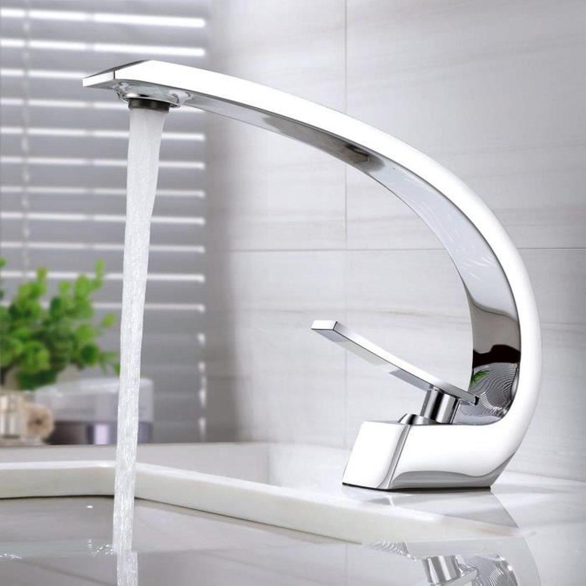 Surface Standard Salle De Bain bonade robinet salle de bain mitigeur lavabo monotrou en 59