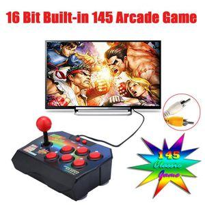 JOYSTICK JEUX VIDÉO Retro joystick 16 bits intégré 145 Arcade Game Con