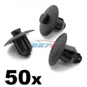50x 8mm PLASTIQUE Clips Bordure Peugeot 307 607 /& 807 Passage de Roue Revêtement