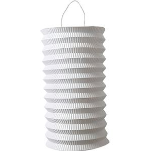 LANTERNE FANTAISIE Lampion 15cm Blanc