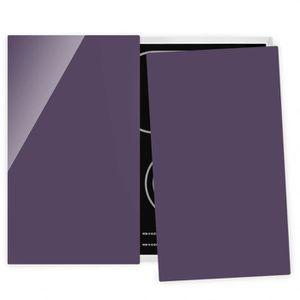 PLAQUE INDUCTION Couvre plaque de cuisson - Red Violet - 52x60cm, p
