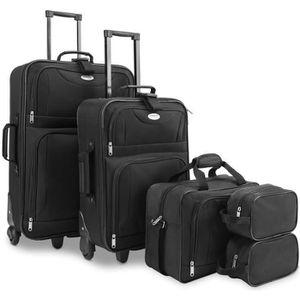SET DE VALISES Set de valises avec 5 pièces empilables - valises