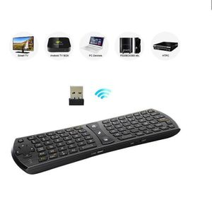 CLAVIER D'ORDINATEUR Rii Mini i24 Fly Wireless (AZERTY) - Mini clavier
